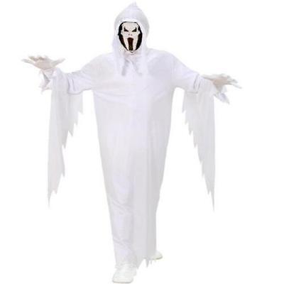 Geist Kinder Geister Kostüm weiß Gr 140  für 8-10 Jahre Scream Halloween  (Scream Kostüm Für Kinder)