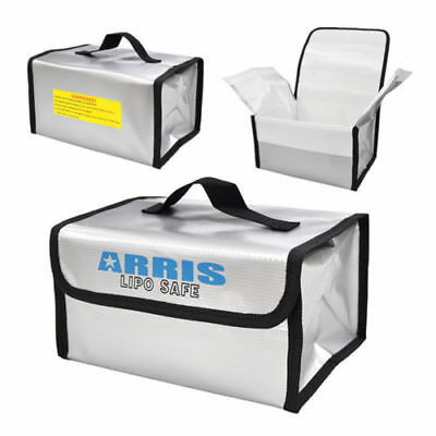 ARRIS RC Lipo Battery Safety Bag 215 x 160 x 115mm Fireproof