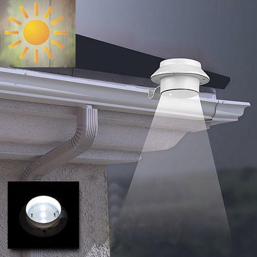 Solar Gutter Light Ebay