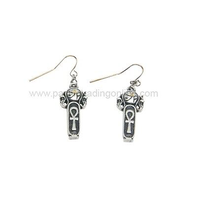 Egyptian Ankh Key of Life Earrings Set of 2 Fashion Jewelry Ancient Egypt Style