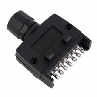 7 Pin Flat Trailer Plug - Male