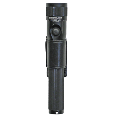 Boston Leather 5548-1 Plain Black Loop Style C-Cell Flashlight Holder//Carrier