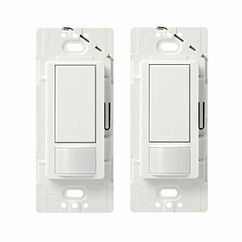 Lutron Maestro Motion Sensor Switch, No Neutral Required, 250 Watts, Single-Pole