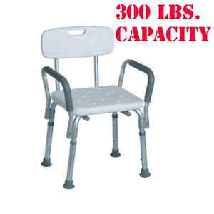 Medical Shower Chair Bathtub Bench Bath Seat With Back