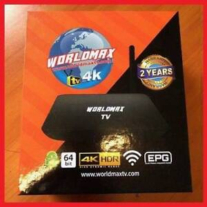 Worldmax TV : Android TV India Fuji Bangladesh Nepal Sri lanka Mays Hill Parramatta Area Preview