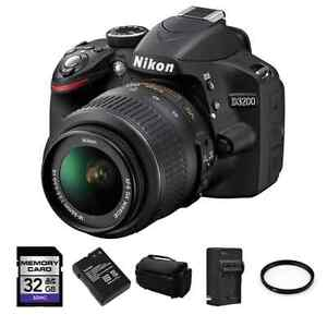 Nikon_D3200_w__18_55_VR_Lens___2x_Battery_Charger_32GB_UV_Case_Kit