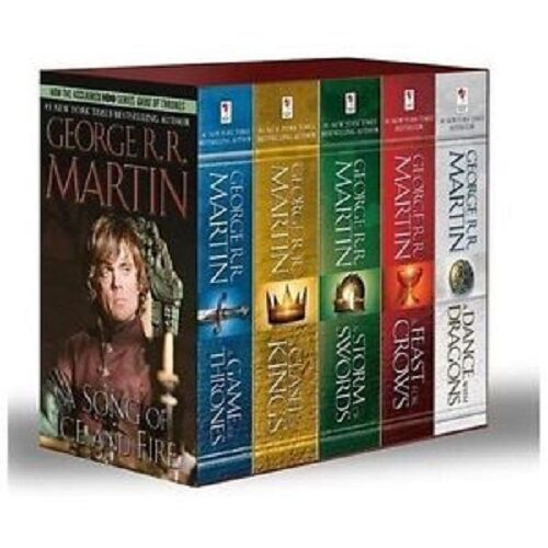 A Game of Thrones 5-Book Boxed Set by George R. R. Martin
