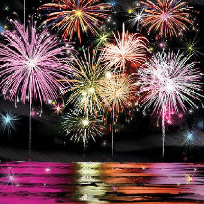 Ambiente 3 Ply Paper Napkins, Fireworks New Year Bonfire Night Decor Serviettes](Bonfire Night Decorations)