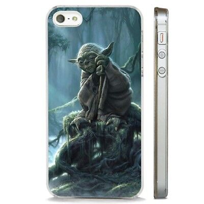 Yoda Jedi Mystical Forest Star wars CLEAR PHONE CASE COVER fits iPHONE 5 6 7 8 X