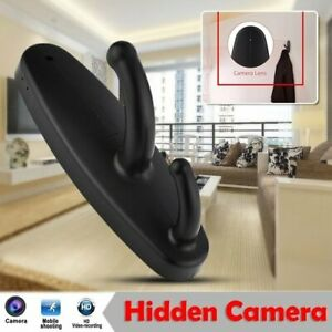 Motion Detection Clothes Hanger Hook Hidden Camera