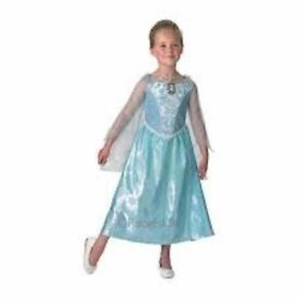 Child's Disney Frozen Musical and Light Up Elsa Costume - Medium (age 5-6), postage available