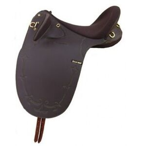 "Wanted: 17"" Synthetic Syd Hill Stock Saddle in brown Murray Bridge Murray Bridge Area Preview"