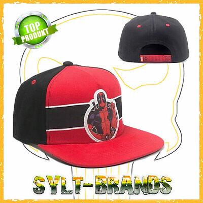 KAPPE BASECAP SNAPBACK AVENGERS CAPS BASECAPS SNAPBACKS HATS (Deadpool Hats)