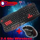 Optical Computer Keyboard & Mouse Bundles with Programmable One-Touch Buttons