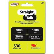 Straight Talk Card