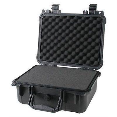"""14"""" Weatherproof Hard Case Dry Box For DSLR HD Camera w/ Pelican 1400 Pluck Foam"""