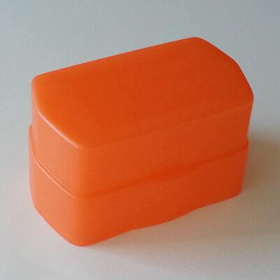 Universal Omni-Bounce Flash Diffuser Orange(430) for Canon 430EX Minolta 5600HSA