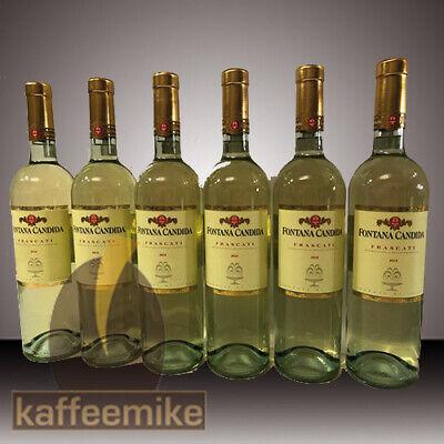 Frascati Fontana Candida DOC (6 X 0,75 L) Weißwein trocken