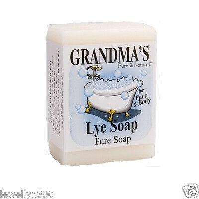 Grandma's Grandmas Pure Natural Lye Soap Bar Unscented