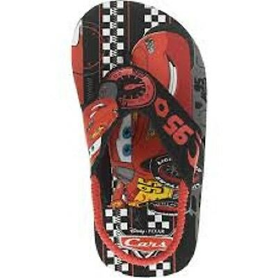 Boys car movie toddler flip flop sandals Size 5-6