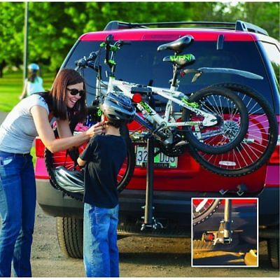 Husky Towing 81145 Receiver Hitch Mount Ball Bike Rack - Frame Clamp ()