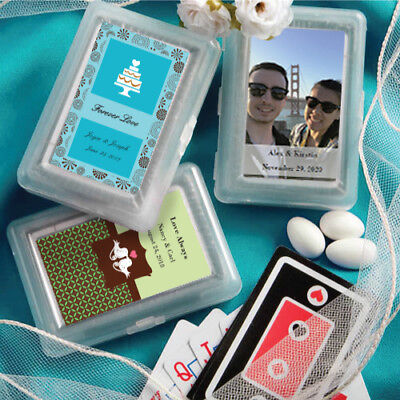 40-100 Personalized Playing Cards - Wedding Shower Party -