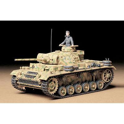 TAMIYA 35215 German Pz. Kpfw. III Ausf. L Tank 1:35 Military Model Kit