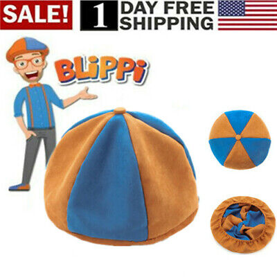 US! Blippi Hat Unisex Children Kids Teenagers Blippi Cap Cos