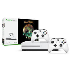 Xbox One S 1TB - Sea of Thieves Bundle + Extra White Xbox Wireless Controller