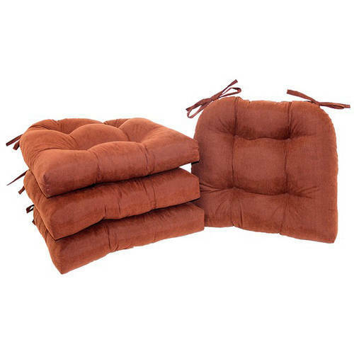 Chair Cushion Pad Seat Set With Ties Patio Outdoor Garden Di