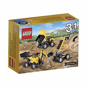 LEGO Creator 31041 Construction Vehicles Set: Brand new