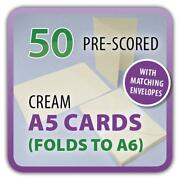 A4 White Card