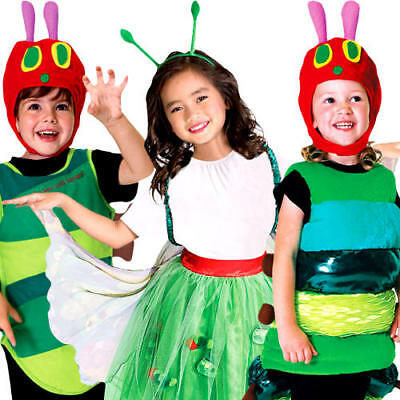 The Very Hungry Caterpillar Boys Girls Fancy Dress World Book Day Child Costumes - The Hungry Caterpillar Costume