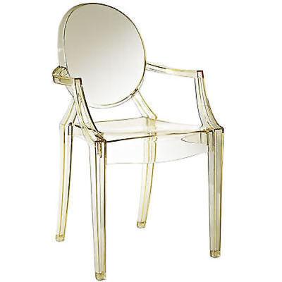 Louis Acrylic Chair in Yellow