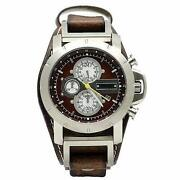 Mens Fossil Watch Brown