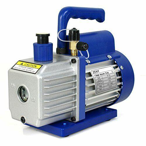 ZENY 4CFM 1/3HP Electric Vacuum Pump Refrigerant R410a R134a HVAC VP135