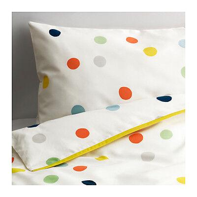 Ikea Dromland Crib Bedding Duvet Cover & Pillowcase DRÖMLAN