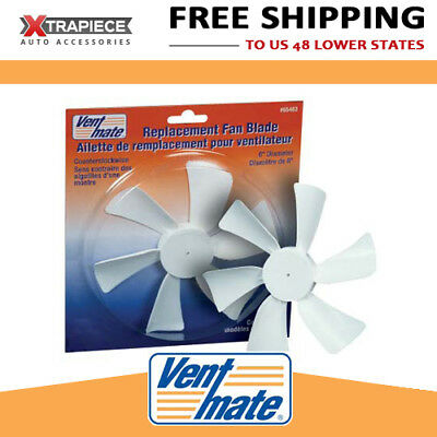 "VentMate 12V Roof Vent Fan Blade Replacement -> Jensen | 1/8"" D Bore 