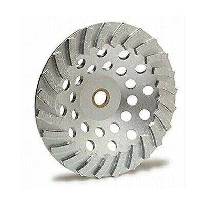 Mk Diamond 7 Turbo Cup Concrete Grinding Wheel W 58-11 Threaded Arbor