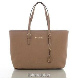 6387cedb Michael Kors Jet Set Saffiano Travel Tote