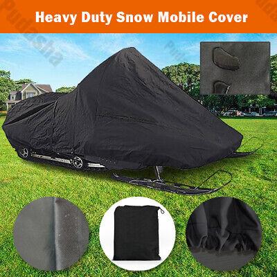 Heavy Duty Snowmobile Cover Universal Polaris Ski-Doo Yamaha Storage BHXC4