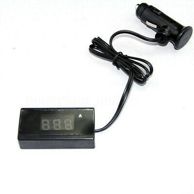 12V/24V Mini Digital Red LED Voltmeter Auto Car Battery Voltage Gauge