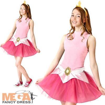 Aurora Tutu Set Ladies Teens Fancy Dress Disney Princess Costume Accessory Kit  - Teen Aurora Costume