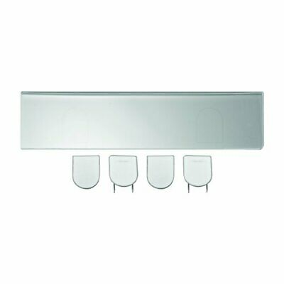 Advantus Panel Wall Sign Name Holder - Customizable - 9 Width2 Height Holding