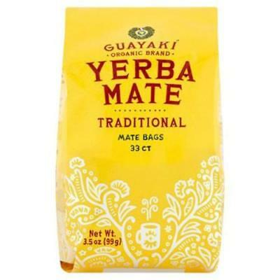 Guayaki Traditional Organic Yerba Mate, Traditional 33 Tea Bag Count