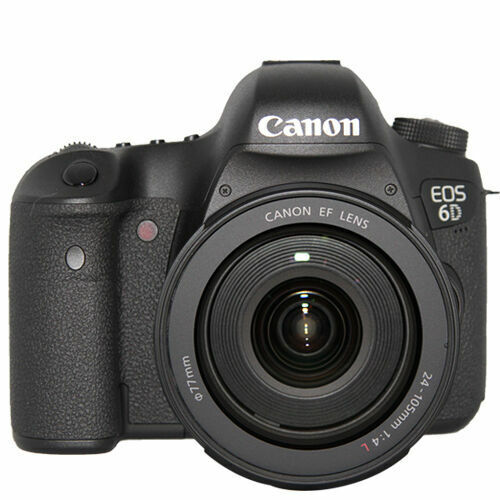 Canon EOS 6D DSLR Camera with 24-105mm f/4L IS Lens Black 8035B009