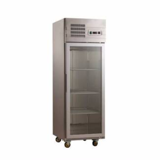 Commercial Upright Freezers - One Door Stainless Steel Glass / Di