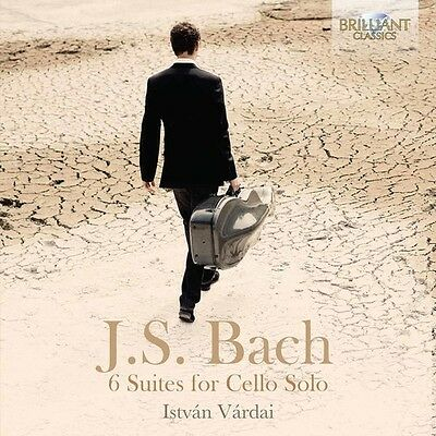 J.S. Bach / Vardai - Johann Sebastian Bach: 6 Suites for Cello Solo [New CD]