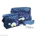 Messenger Nappy Bags with Insulated