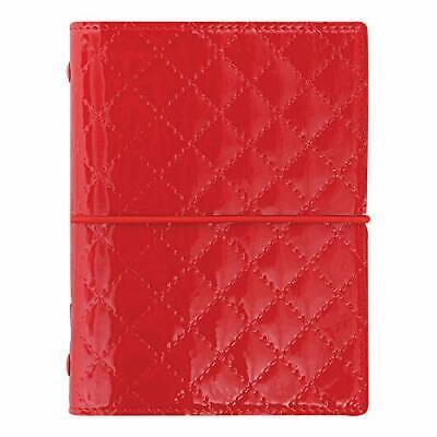Filofax 2019 Pocket Organizer Domino Luxe Red 4.75 X 3.25 Inches C027991-19